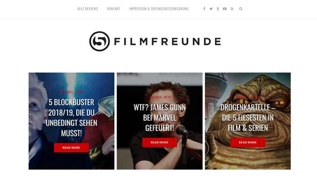 Fünf Filmfreunde