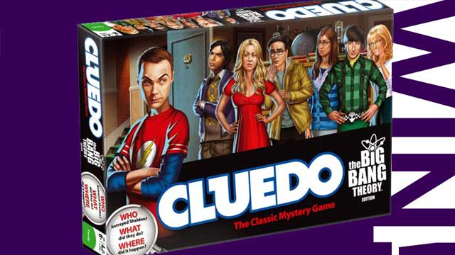 Gewinne Cluedo in der The Big Bang Theory Edition!