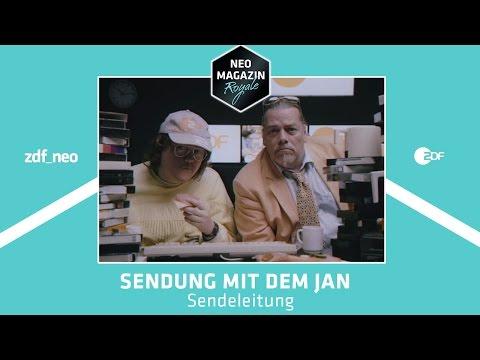 """Sendung mit dem Jan - """"Sendeleitung""""   NEO MAGAZIN ROYALE mit Jan Böhmermann - ZDFneo"""