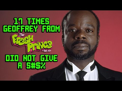 """17 Times Geoffrey From """"Fresh Prince of Bel Air"""" Did Not Give A S#$%"""