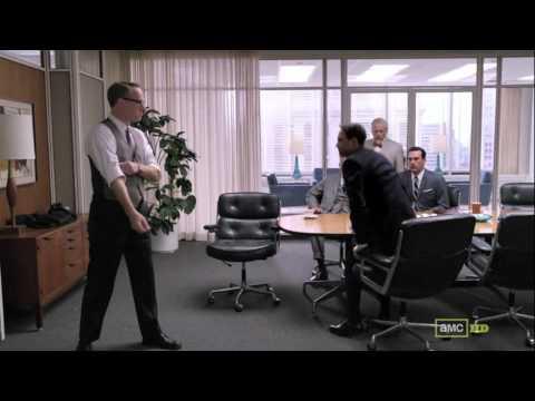 Mad Men Season 5 Episode 5 Lane Pryce Fights Peter Campbell