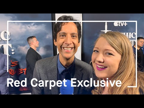 Mythic Quest: Raven's Banquet| Danny Pudi Talks About His Unique New Role & Working with Old Friends