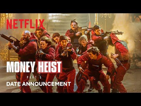 Money Heist: Part 5   Date Announcement   Netflix
