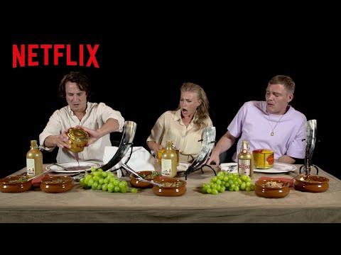 Historische Leckerbissen | Eine kulinarische Reise mit dem Barbaren-Cast | Netflix