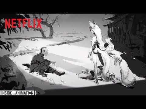 LOVE DEATH + ROBOTS | Inside the Animation: Good Hunting | Netflix