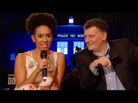 FULL Q&A With Pearl Mackie & Steven Moffat | #DWFinaleCountdown | Doctor Who: Series 10