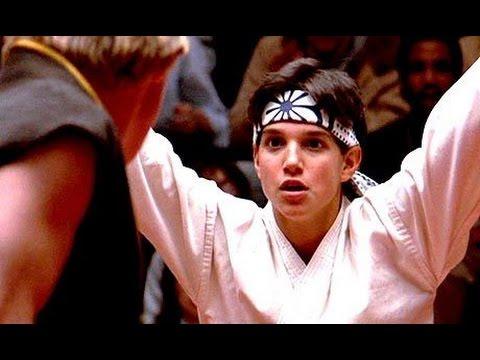 """Karate Kid"" (HD) – Best scene – 'Crane Kick' (1984, original)"