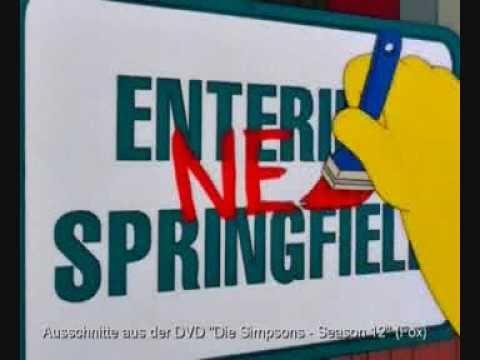 20 Jahre Simpsons - Interview Norbert Gastell / Matt Groening