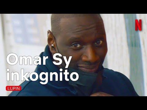 Omar Sy täuscht Zuschauer beim Lupin-Plakate aufkleben   Netflix
