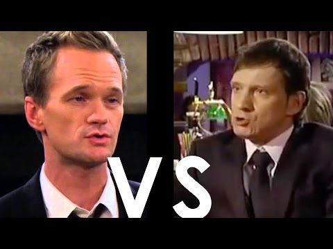 Fies geklaut: HOW I MET YOUR MOTHER   Original vs. Kopie