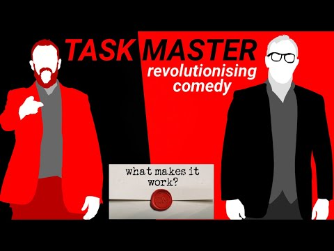 Taskmaster   Revolutionising Comedy: finding meaning in the gameshow