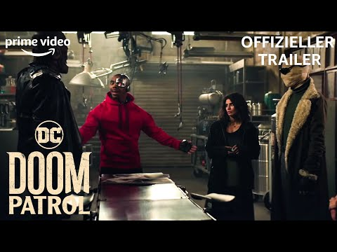 5 furchtlose Superhelden   Doom Patrol   Offizieller Trailer   Prime Video DE