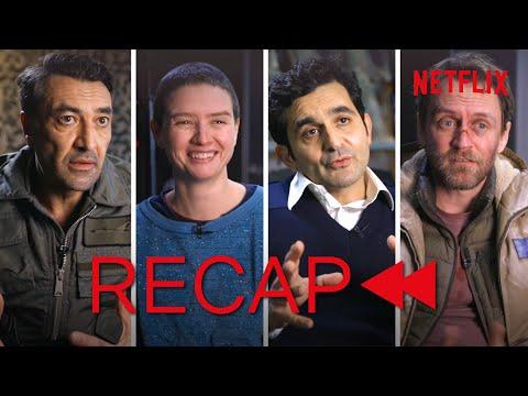 Official Cast Recap - Into The Night Season 1! (English)   Netflix