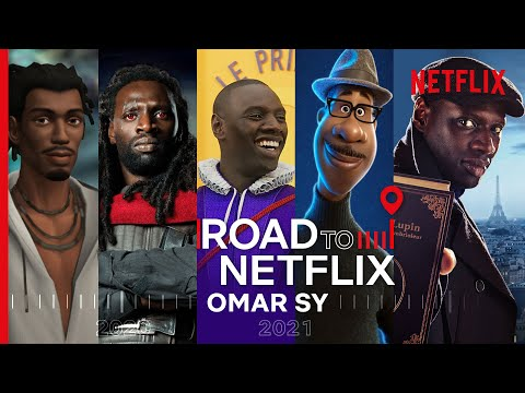 Omar Sy's Incredible Career So Far | From The Intouchables, to Jurassic World, to Lupin