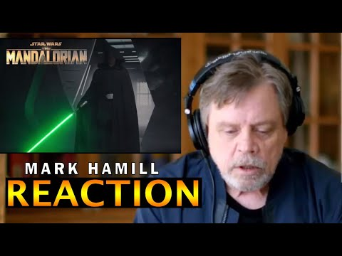 Mark Hamill reaction Luke Skywalker REDUB Returning Mandalorian Finale Star Wars