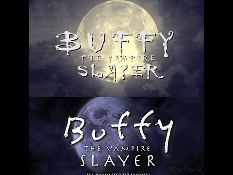 Buffy the Vampire Slayer Intro Recreated With Stock Footage