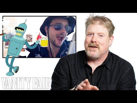 John DiMaggio (Futurama's Bender) Reviews Impressions of His Voices   Vanity Fair