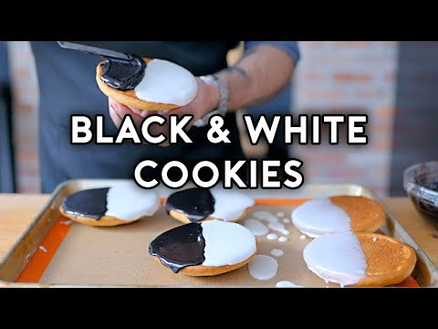 Binging with Babish: Black & White Cookies from Seinfeld