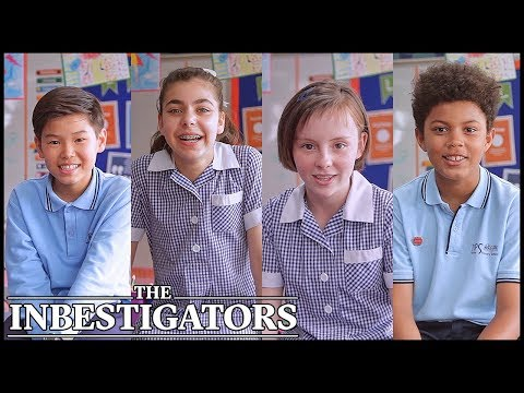 60 Seconds With The Cast | The Inbestigators
