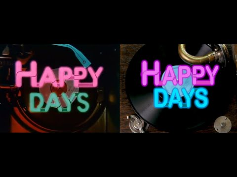 Happy Days Intro Recreated Using Only Stock Footage