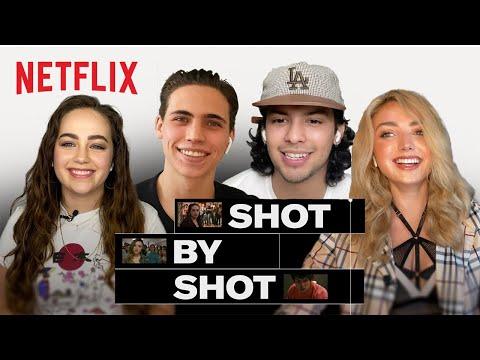 Cobra Kai School Fight Scene | SHOT BY SHOT | Netflix
