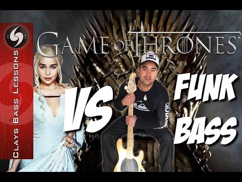 GAME OF THRONES Vs Funk Bass