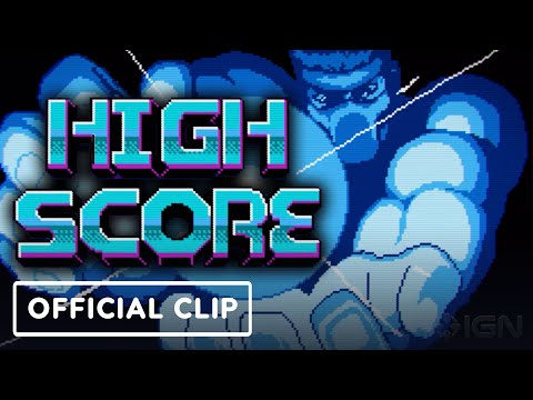 Netflix's High Score - Exclusive Official Opening Credits Clip (Music by Power Glove)