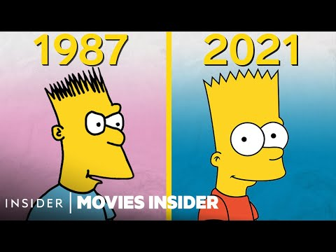 How 'The Simpsons' Animation Evolved Over 30 Years | Movies Insider
