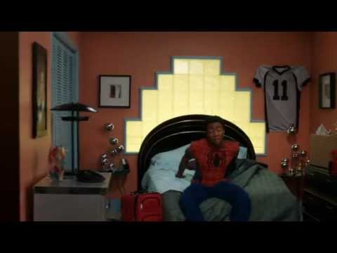 Community Easter Egg - Donald Glover for Spiderman role in reboot.