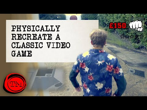 Physically Recreate A Classic Video Game – FULL TASK
