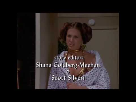 Friends-The one with Rachel as Princess leia