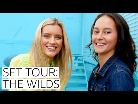 The Wilds Actors Give A Set Tour | Prime Video