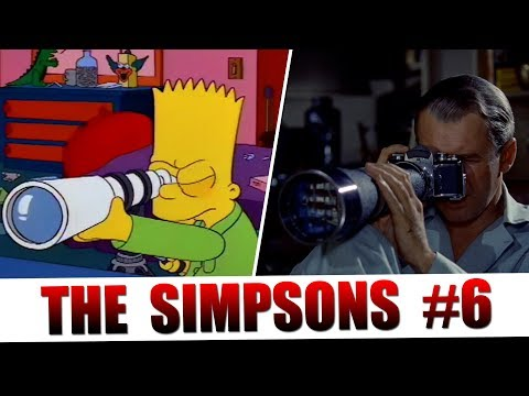 The Simpsons Tribute to Cinema: Part 6