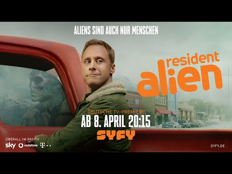 Resident Alien | Sneak Peek - ab 8. April auf SYFY