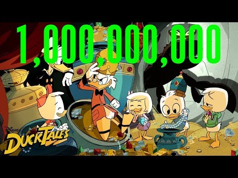 """Woo-oo!"" Times 1 Billion | DuckTales | Disney XD"
