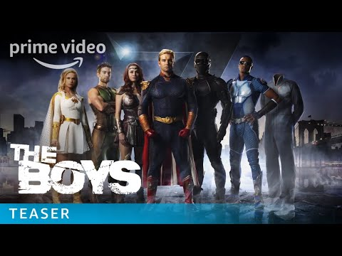 The Boys TV Show NYCC Teaser   Prime Video