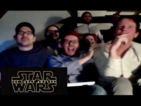 Rocket Beans TV reagiert auf den Star Wars: The Force Awakens Teaser