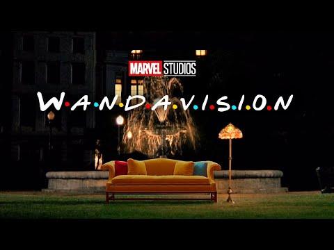 WandaVision Intro | Friends Style