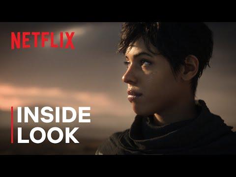 Love, Death + Robots   Inside the Animation: Snow in the Desert   Netflix