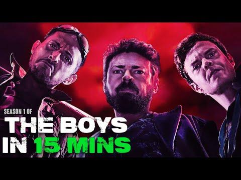 The Boys in 15 Minutes (S1 Recap)