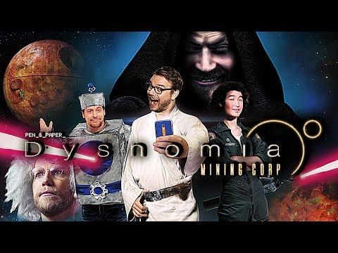 Pen & Paper: Dysnomia Finale   Das Rollenspiel-Weltraumabenteuer bei Rocket Beans TV
