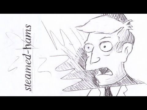steamed hams but it's take on me