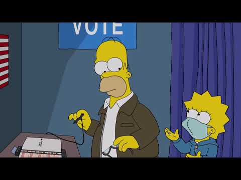The Simpsons' Treehouse of Horror Lists 50 Reasons Not to Vote Trump