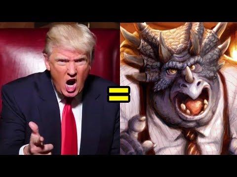 Donald Trump is a Dinosaur!