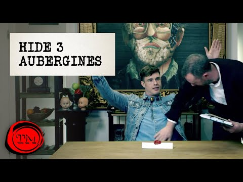 Hide 3 Aubergines In This Room | Full Task | Taskmaster