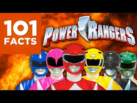 101 Facts About Power Rangers