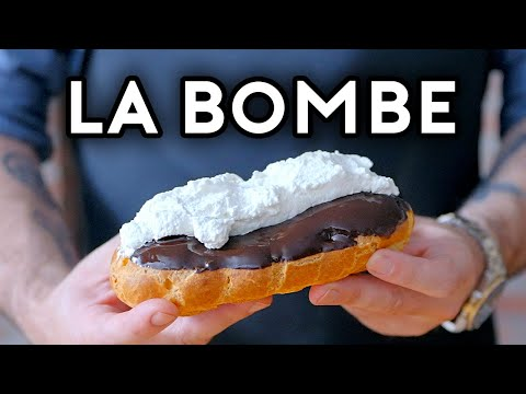Binging with Babish: Death by Chocolate Éclair from The Simpsons