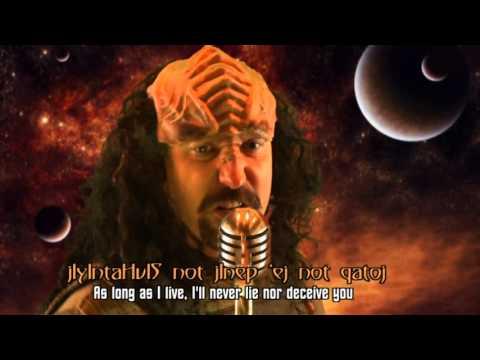 jIyIntaHvIS not qajegh - Klingon Rick Roll Parody