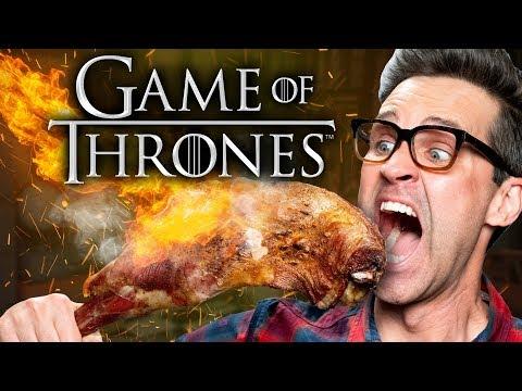 Game of Thrones Food Taste Test