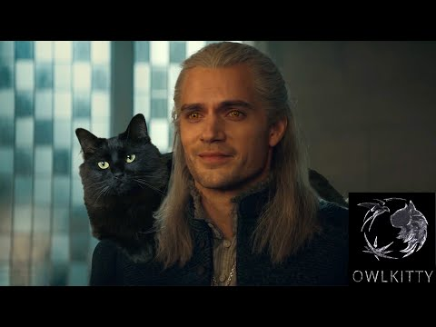 If Geralt had a Cat (OwlKitty + Witcher)